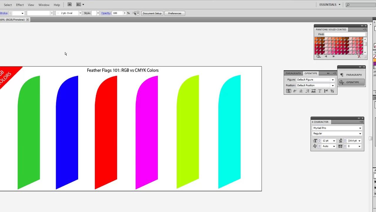 CMYK vs RGB Colors | Custom Flags & Banners | FeatherFlagNation.com ...