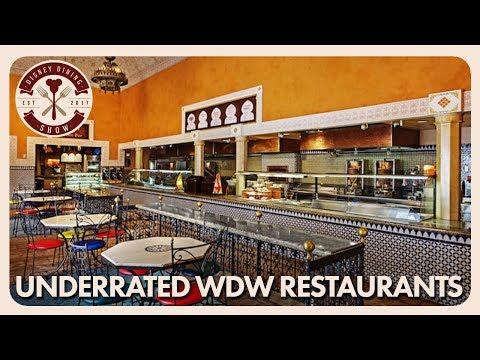 Underrated Walt Disney World Restaurants   Disney Dining Show   04/20/18