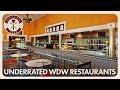 Underrated Walt Disney World Restaurants | Disney Dining Show | 04/20/18