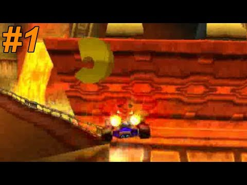 ПЛЯЖ Н. СЭНИТИ (значки) - Crash Team Racing #1