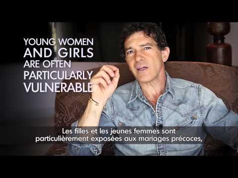 Antonio Banderas – Halte à la violence envers les femmes!