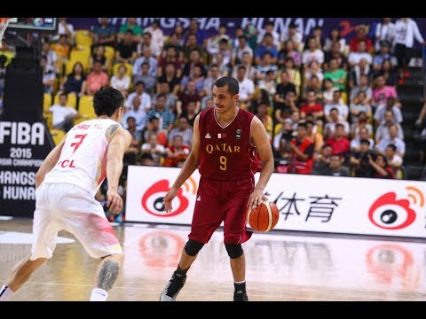 Mizo Amin - FIBA - Asian Championship Qatar vs China  Offensive Highlights (2015)