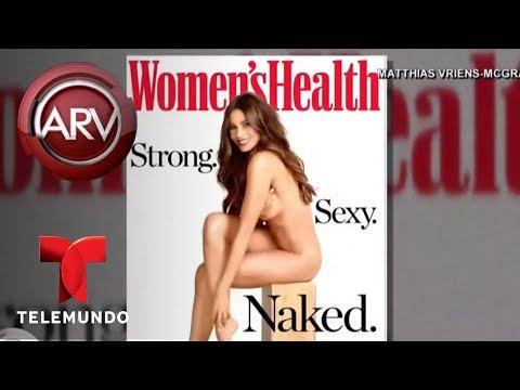 Sofía Vergara se desnudó para Women's Health | Al Rojo Vivo | Telemundo