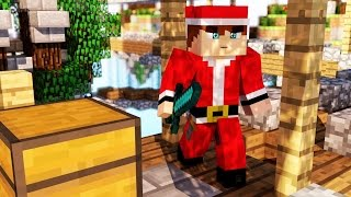 MAPA DE SKYWARS COM TEMA DE NATAL - MINECRAFT PE 0.13.0 (POCKET EDITION)