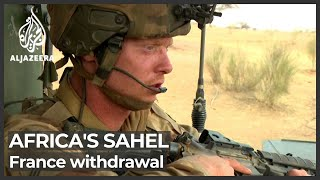 Fears over French troop withdrawal from Africa's Sahel