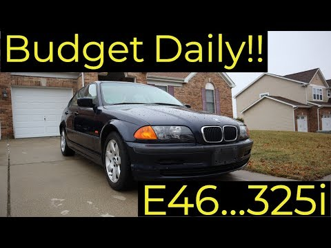 Budget Daily: E46 BMW 325I Project Car