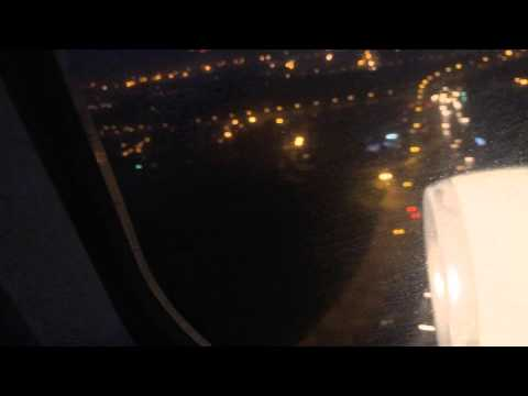 Landing in Delhi Indira Gandhi International Airport