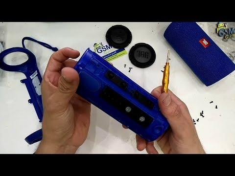 JBL Flip 3 Teardown and USB Repair | How to - Gsm Guide