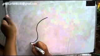 How To Draw elephant in simple way / Cara Mudah Menggambar Gajah untuk Anak Anak