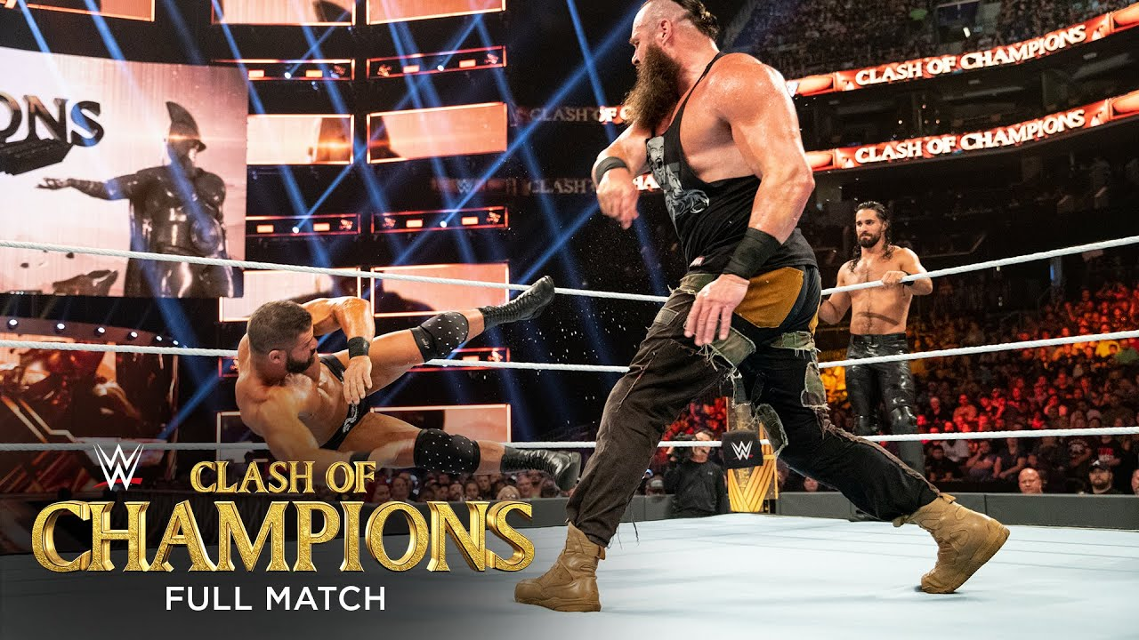 FULL MATCH: Rollins & Strowman vs. Ziggler & Roode- Raw Tag Title Match: WWE Clash of Champions 2019