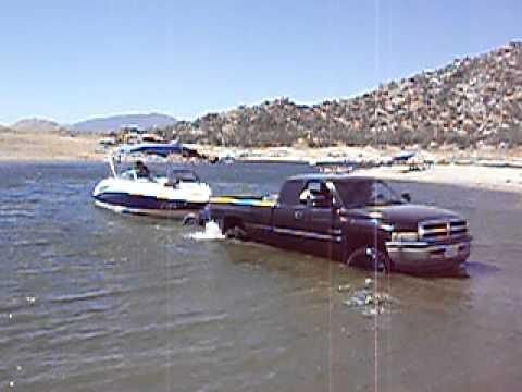 Dodge Cummins boat Launch