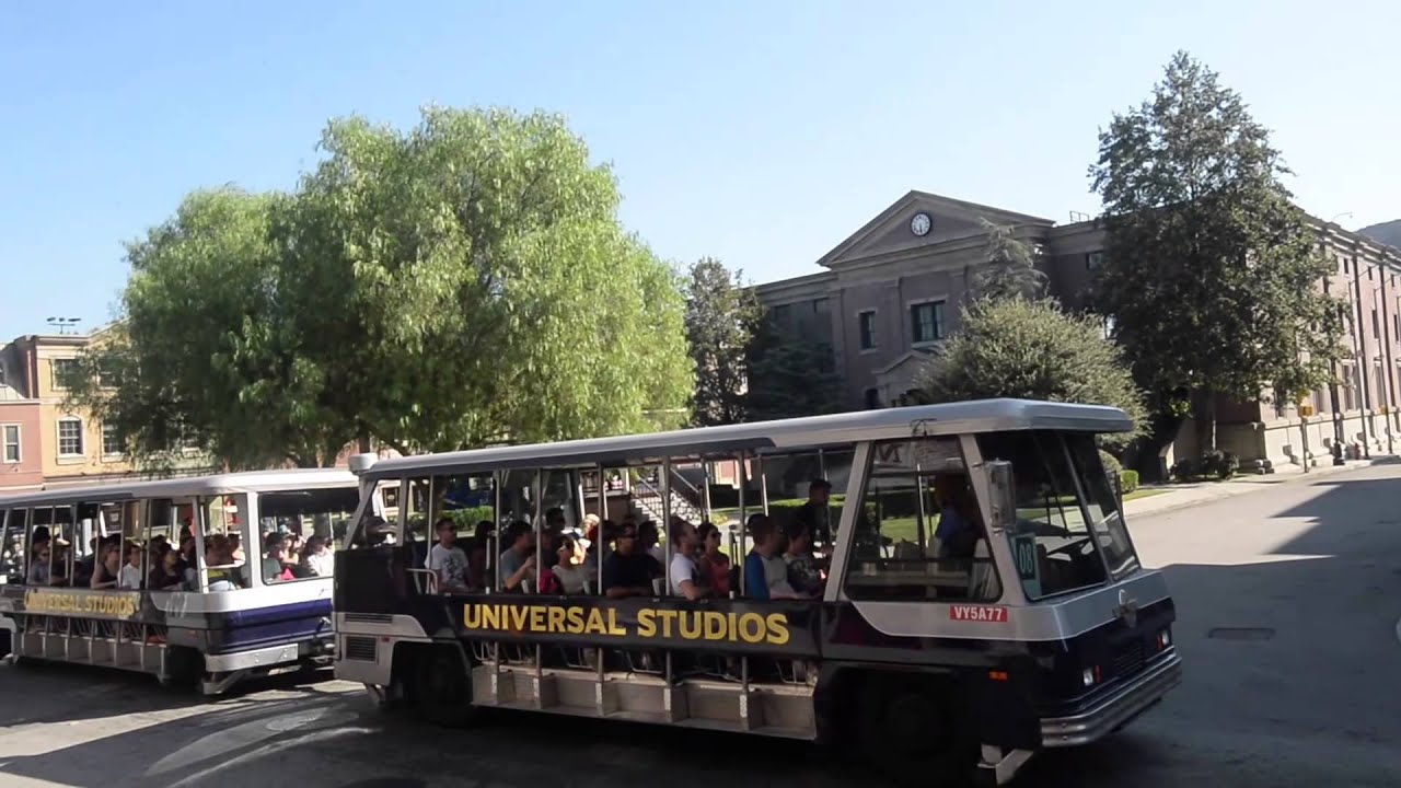 Universal Backlot Tour Hollywood