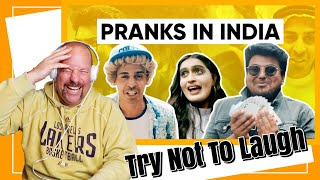 Why Pranks Don't Work in India   Jordindian   Reaction   TRY NOT TO LAUGH