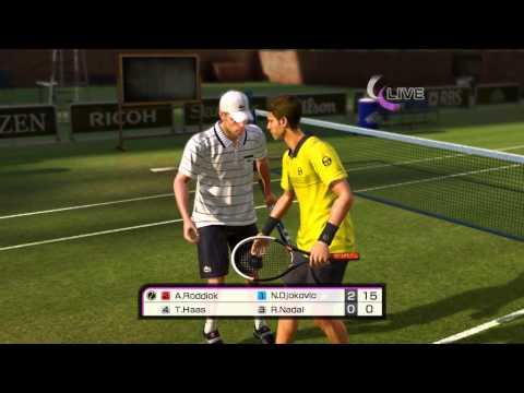 Virtua tennis 4 Srbija - Ep3 - Malo nam je falilo