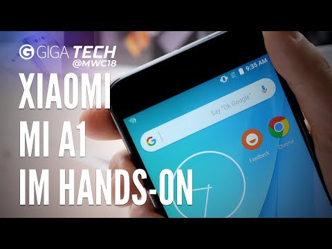 Xiaomi Mi A1 im Hands-On (deutsch): Knaller-Einsteigerhandy mit Stock-Android - GIGA.DE