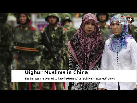 Thousands of Uighur Muslims detained in Chinese 're-education' camps