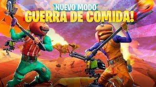 GUERRA DE COMIDAS FORTNITE TRAILER OFICIAL EPIC GAMES
