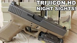 Trijicon HD Night Sights! Gold Standard for Glocks