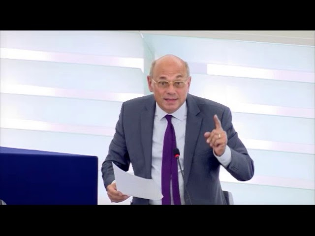 Jean-Luc Schaffhauser sur la réglementation des activités des sociétés transnationales par l'UE