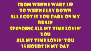 Spending All My Time Loving You-Aaron Fresh lyrics