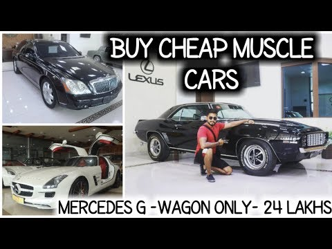 Buy Muscle Cars And Sports Cars In Cheap Price And Import To India | CAMARO SS 1969