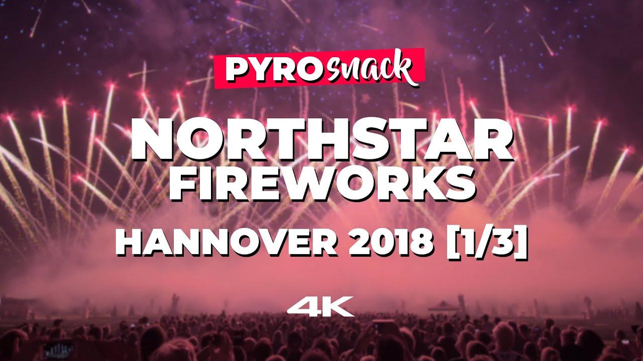 PyroSnack - Masterpiece! NorthStar Fireworks | Hannover 2018 [1/3]