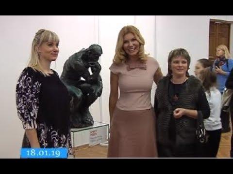 ТРК ВіККА: У Черкасах тривають останні дні виставки робіт Родена