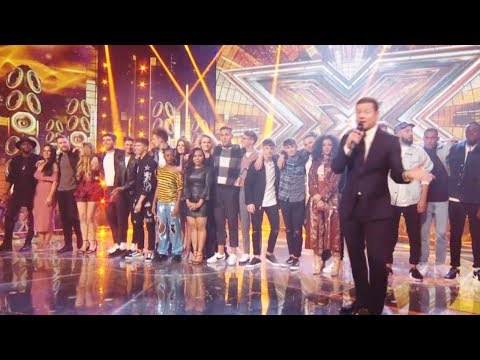 X Factor UK 2017 Intro Live Show Simon Cowell is Missing -Finalists & Wildcards Oct 28, 2017