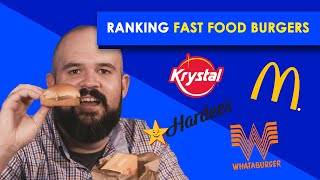 Ranking Fast Food Burgers | Bless Your Rank