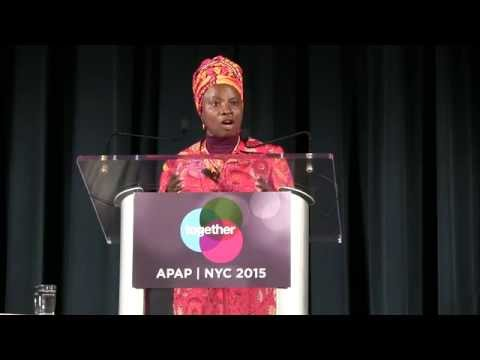 APAP|NYC 2015 Closing Plenary featuring Angélique Kidjo