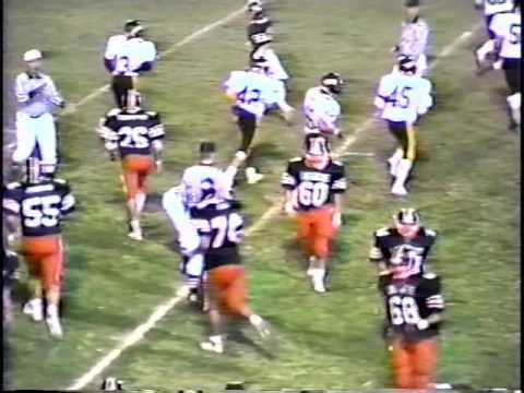 1987 Los Gatos High Football Season