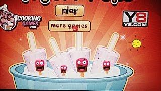 Играем в игру   Банановый -ягодный йогурт