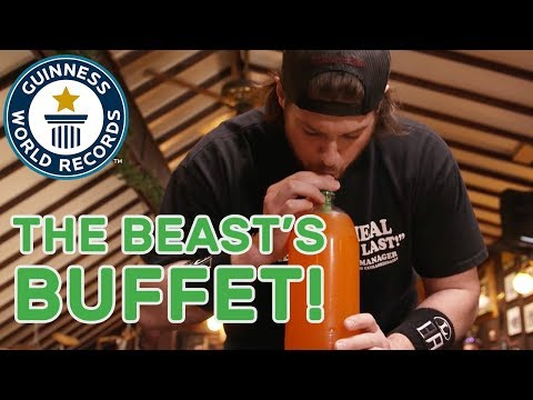L.A. Beast attempts six incredible record titles in one sitting! - GWR Beyond The Record