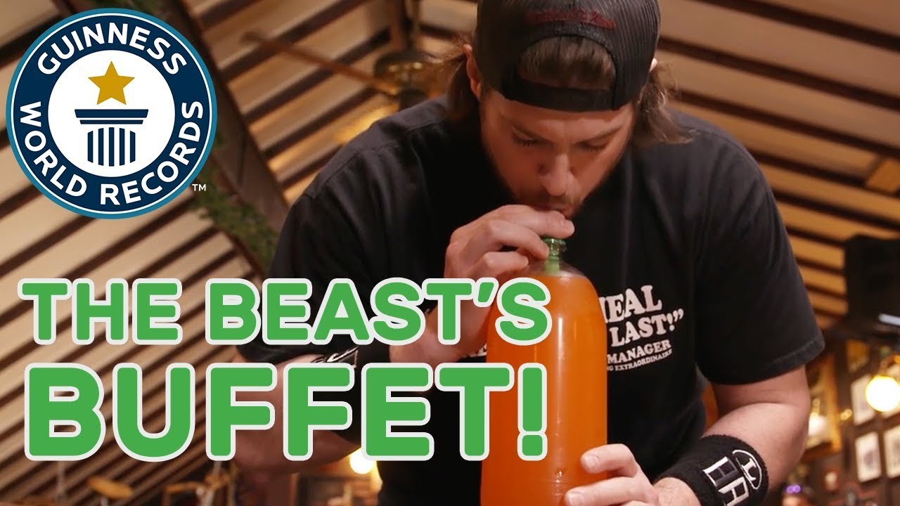 La Beast Attempts Six Incredible Record Titles In One Sitting Gwr Beyond The Record