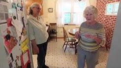 """Elderly """"sandwich generation"""" parents living with their children"""