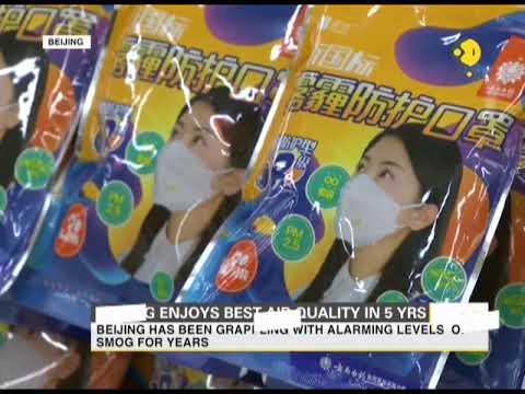 Beijing enjoys best air quality in 5 years