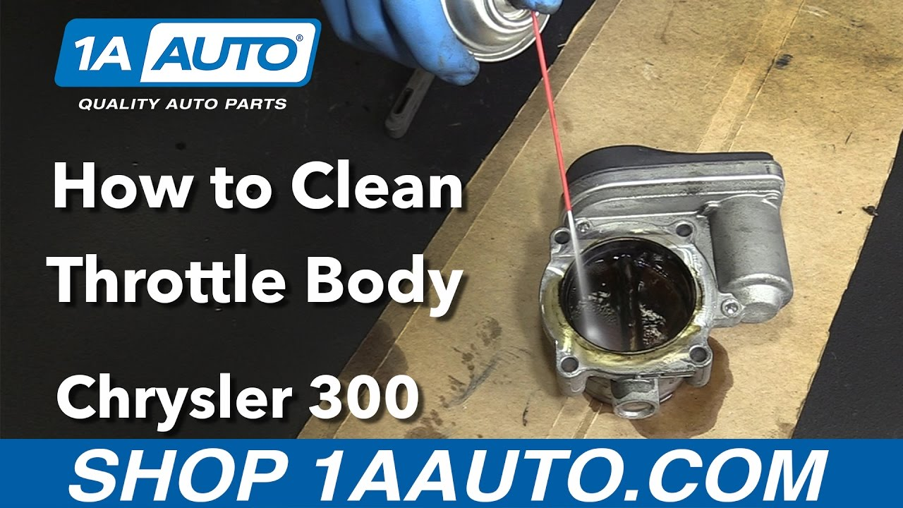 How to Clean Throttle Body 05-10 Chrysler 300