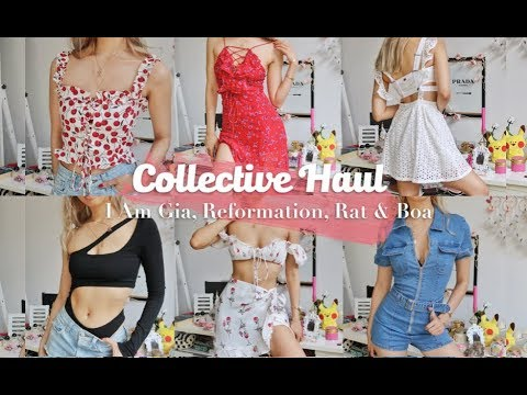 Collective Haul    Reformation, I Am Gia, Rat & Boa, OhPolly