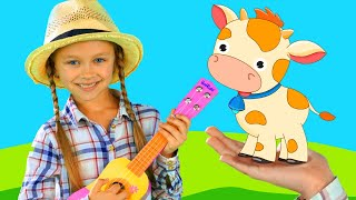 Nursery Rhymes Song for children - Who lives on the Farm | Tiki Taki Song