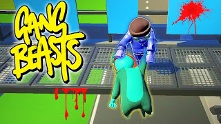 HEADLESS FIGHTERS?? FUNNIEST GANG BEASTS GLITCH!! Best Fighting Game Ever: GANG BEASTS Funny Moments | HikePlays