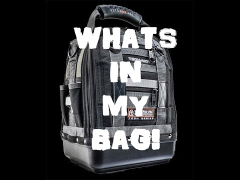 My Tool Bag Load out / whats in my bag Veto tech pac!