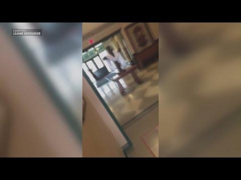 WATCH: Videos Show Bear Stuck Inside Church In Eureka, Missouri