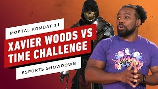 WWE Smackdown's Xavier Woods Takes On Mortal Kombat 11 Time Challenge - Esports Showdown