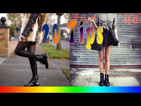 20 Style Tips On How To Wear Combat Boots