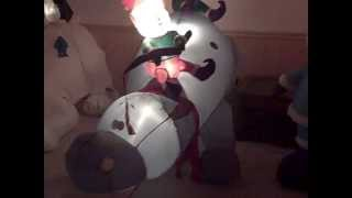 Christmas Inflatables Test #1 2012