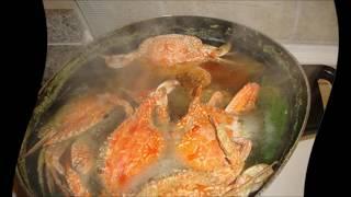 видео Краб свежий рецепт приготовления