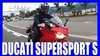 DUCATI SUPERSPORT S ときひろみさんも登場!|丸山浩の速攻バイクインプレ