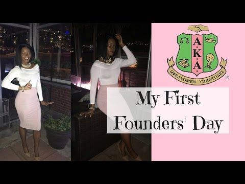 COLLEGE VLOG #11 Founders Day, Celebrating 109 Years | Alpha Kappa Alpha Sorority, Inc.