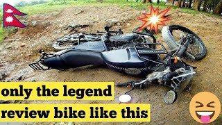 Royal Enfield Himalayan Test Ride Experience & Review Went Wrong || Short rider on Himalayan RE