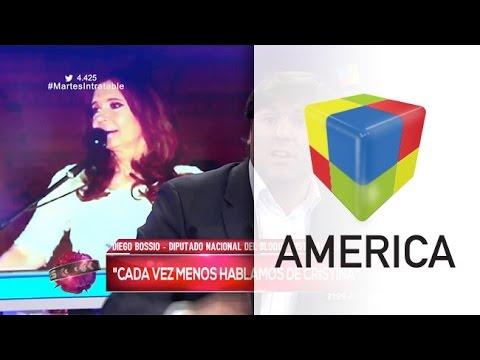 Bossio: De Cristina hablamos cada vez menos